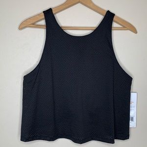 NWT Lucy Light and Free Sports Bra Top Black Sz XL